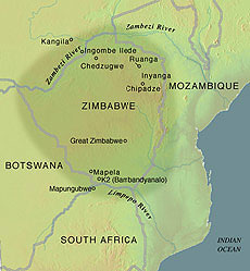 Ancient civilizations of southern africa the kingdom of ancient civilizations of southern africa the kingdom of mapungubwe map of mapungubwe sciox Gallery