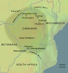 Map of Mapungubwe