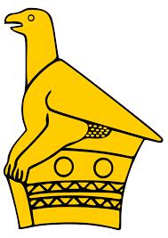 Bateleur Eagle on the flag of Zimbabwe