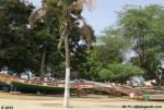 Pirogues de Pecheurs a Dakar, Senegal / Fishermen's boats in Dakar, Senegal