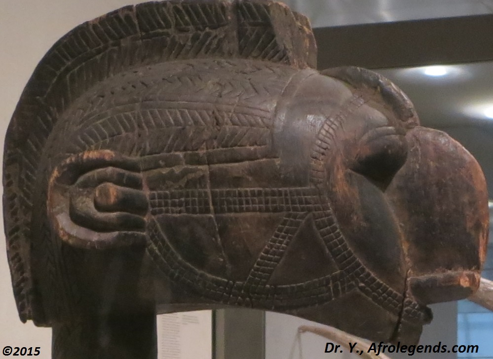 Intricate patterns on a Dogon mask from Mali (exposed at the MET)