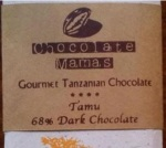 A chocolate bar from Chocolate Mamas (chocolatemamas.com)