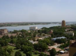 Bamako on the banks of the Niger River (Wikipedia)