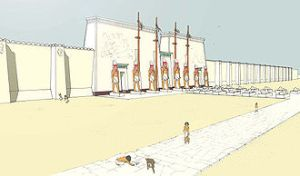 Memphis_Great temple of Ptah