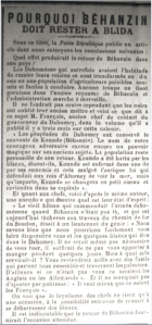 Behanzin_18 Juillet 1906