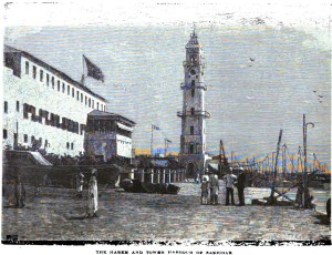 zanzibar_the_harem_and_tower_harbour_of_zanzibar_1890
