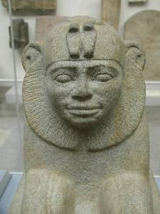 Nubia_Sphinx of Taharqa