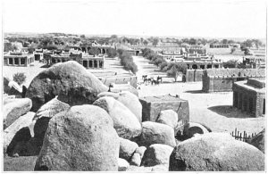 Niger_Town of Zinder 1906 from the French fort