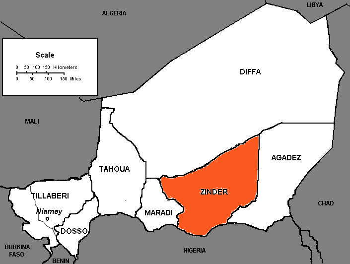 French Colonial Treaties in Africa France in Niger Zinder 9 June
