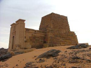 Amanitores pyramid in Meroe