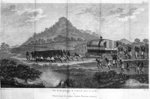 Angola_Burial of a king view of the Cabinda mountain 1786-87