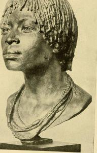 Congo_bust of a Kongo girl ca 1910
