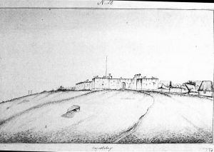 Ghana_The_Danish_fort_Augustaborg,_built_1787