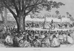 Cote dIvoire_Binger Arrivée_à_Kong-1892
