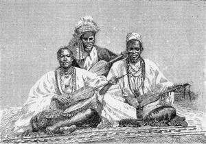 Mali_Griots of Sambala king of Medina Fula people 1890