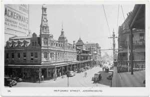 Johannesburg-c1910 Pritchard St
