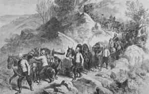Tewodros II_Departure of British expeditionary force from Magdala 1868