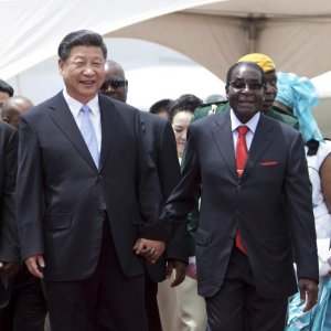 Robert Mugabe_China