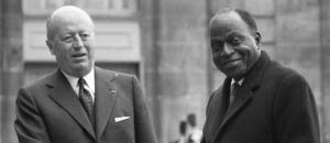 francafrique-Foccart et Houphouet