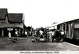 Nigeria_Aba station 1920s