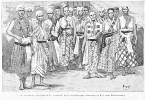 Dahomey_Amazones a 1890