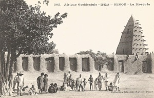 Mali_Ségou_La Mosquée (AOF)
