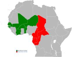 FCFA_Franc_map