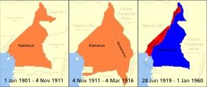 Kamerun_Map 1901-1960